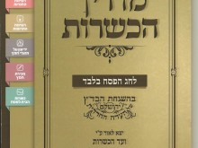 Annual Pesach guide 5774 cover