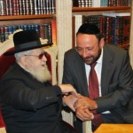 R' Yigal Ben-Ezra with R' Ovadia Yosef Shlita
