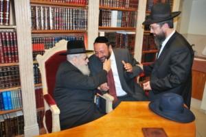 Rav Moshe & R' Yigal with R' Ovadia Shlita