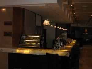 Lobby dinning area