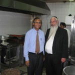 Rabbi Fink and Vinod