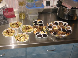 …Or Some Naturally Dried Fruits & an Assortment of Pastries