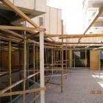 Jerusalem Plaza Hotel - Sukka construction