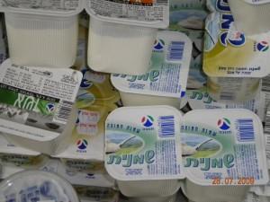 Tnuva sour cream - Eida Chareidit Hechsher