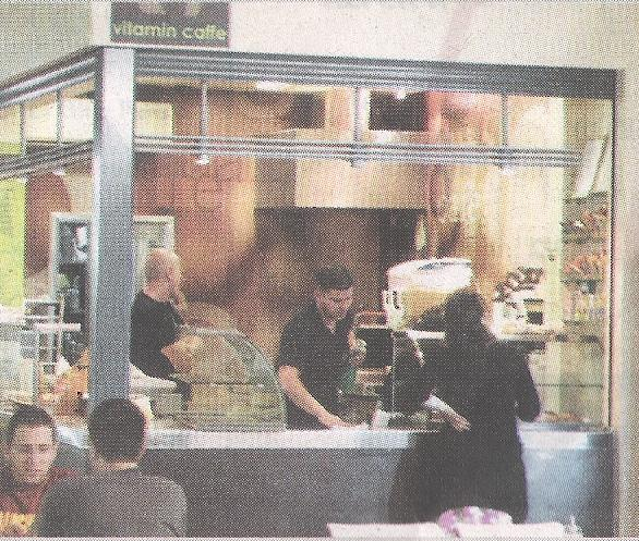 Vitamin Cafe - Hebrew U Jerusalem (from Zman Jerusalem Weekly)